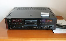 top SONY DTC 2000 ES working rare Reference DAT Recorder DTC 2000ES High End