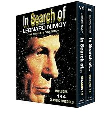 In Search Of with Leonard Nimoy: Complete Series Seasons 1-6 Boxed DVD Set NEW!