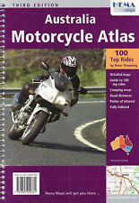 Australia Motorcycle Atlas by Peter Thoeming (Spiral bound, 2003)