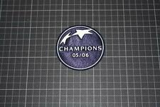 UEFA CHAMPIONS LEAGUE WINNER BADGES / PATCHES 2005-2006