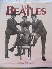 THE BEATLES, by Mike Clifford Large book of stories & pictures *AS IS-see descr