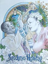 Satchmo Holiday New Orleans 2012 Signed/Numbered   Louis Armstrong