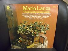 Mario Lanza Christmas Hymns and Carols vinyl LP VG+ Pickwick 1977