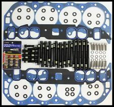 BBC CHEVY TOP END KIT FOR OVAL PORT  ALUMINUM HEADS TEK-1017-1212-ARP-3607