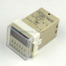 Double Time Timer Delay Relay Device Programmable Digit LED display AC220V