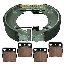 YAMAHA GRIZZLY YFM600 YFM600F HUNTER EDITION 2000-01 FRONT REAR BRAKE PADS SHOES