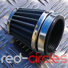 50mm 'K&N STYLE' PIT BIKE AIR FILTER FITS KEIHIN PE28 CARBURETTOR ON PITBIKES
