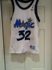 Vintage 1990s Champion retro Shaquille O'Neal White Orlando Magic Replica jersey