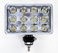 """7"""" Inch 12 LED Round Work Spot Light 36w Off Road Jeep Truck 4x4 Lamp - Qty 2"""