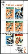 Nederland NVPH 1541 - EVER MEULEN CHILD WELFARE MUSIC S/S - 1992  - **MNH