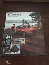 1978 Ford Accessories Car Auto Dealership Advertising Brochure Catalog