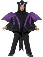 Childs Hooded Creature Cape Halloween Fancy Dress Costume Age 7 - 12 P9655