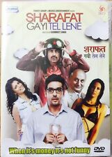 Sharafat Gayi Tel Lene - 2015 Hindi Movie DVD Region Free Subtitles / Zayed Khan