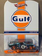 2014 Hot Wheels Redline Club RLC Gulf Racing Ford GT-40 # 1256 of 4000 sold out