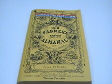 The Old Farmer's almanacs - from 1976 bicentennial issue Very Fine Condition SC