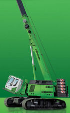 Ros - Sennebogen 683HDTelescopic Crawler Crane In Sennebogen Green.1:50th MIB