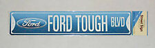 """Ford Tough BLVD Street Road Sign Tin 24"""" x 5"""" Falcon XC GXL XD XE XF ESP Phase 5"""