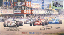 1971 BRM P160 MARCH TYRRELL 002 & SURTEES MONZA F1 cover signed HOWDEN GANLEY