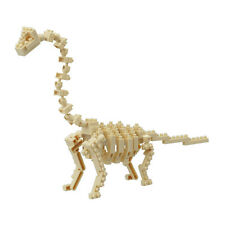 Brachiosaurus Skeleton Model Nanoblock Micro Sized Building Blocks Kawada NBC114