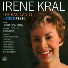 Irene Kral: THE BAND AND I + STEVEIRENEO (2 LPS ON 1 CD) Fresh Souns