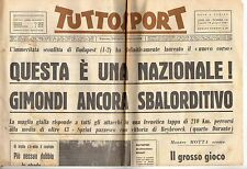 rivista TUTTOSPORT - 28/06/1965 N. 176 QUESTA E' UNA NAZIONALE - GIMONDI