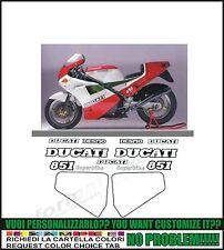kit adesivi stickers compatibili  851 1988 superbike