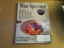 WINE SPECTATOR - SEPTEMBER 30, 2013 - THE FLAVORS OF ITALY