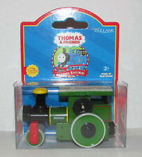 THOMAS THE TANK TRAIN-WOODEN GEORGE RED LABEL 2001 W/CHARACTER CARD**NEW IN BOX*