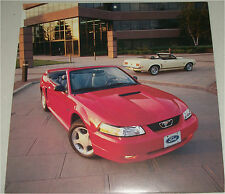 2000 Ford Mustang GT Convertible car print (red, no top)