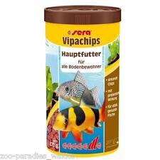 1 Liter sera vipachips - Hauptfutter Bodenfutterchips, Futtertabletten