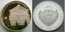2009 Palau Large Proof color $1 World Wonders-Halicarnassus Masoleum