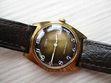 VINTAGE MENS TIMEX, STUNNING DIAL, MECHANICAL,,,,,,,HAS SOME CASE RUBS