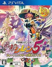 PSV Mystery Dungeon: Shiren the Wanderer 5 Plus REGION FREE PlayStation Vita