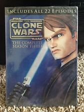Star Wars: The Clone Wars Season Three 3 Third DVD BRAND NEW & SEALED!