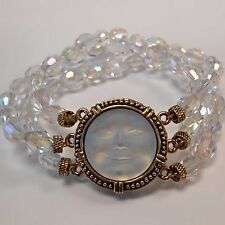 Kirks Folly NWOT Seaview Moon Stretch Bracelet Expect Miracles