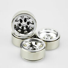 "ALIENTAC Four(4) 1.9"" Wide 1"" Alloy Beadlock Wheel Rim for 1/10 RC Model #031"