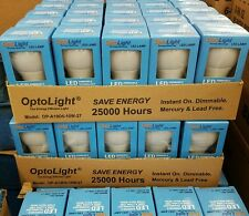 LED DIMMABLE Light Bulb 10 Watt=60 Watt Equivalent 2700K SAVES $$ OptoLight A19