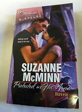 Protected in His Arms 1542 by Suzanne McMinn (2008, Paperback) from Haven series