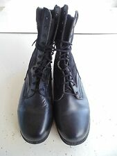 USN NAVY USCG LATEST BLACK L/W CREWMAN WORK COMBAT BOOTS BDU UNIFORM SIZE 10.0R