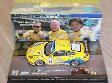 PORSCHE 911 996 GT3 RS #91 24H LE MANS 2006 T2M TEAM MOTORSPORT YAMAGISHI DE FOU