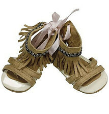 Gotz Hannah play doll Fringed Sandals in Gauze Bag NEW