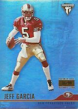 2001 PRIVATE STOCK TITANIUM PREMIERE #120 JEFF GARCIA 35/99 49ERS FREE SHIPPING