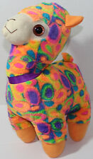 Good Stuff COLORFUL RAINBOW LLAMA Stuffed Plush Animal SOFT TOY Weird Cute