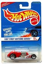 1997 Hot Wheels #520 First Edition #4 Saltflat Racer 0910crd malaysia base