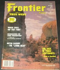 Frontier Times January 1981-Butch Cassidy-The Living Dead