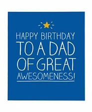 Happy Jackson Card: Happy Birthday Dad of Awesomeness - New In Cello (GF706B)