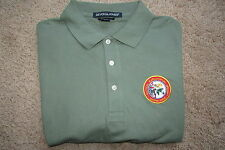 Green Devon & Jones Tactical Exploitation Group SEMPER SERVO Polo Shirt Sz L