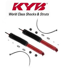 Jeep Cherokee Comanche Pair Set of 2 Front Shock Absorbers KYB MonoMax 565053
