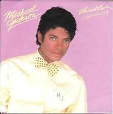 "45 TOURS / 7"" SINGLE--MICHAEL JACKSON--THRILLER (SPECIAL EDIT)--1982"