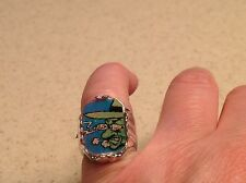 Vintage 1960's Little LI'L Abner Vari Vue Flicker Rings Fleegle; Evil Eye Fleegl